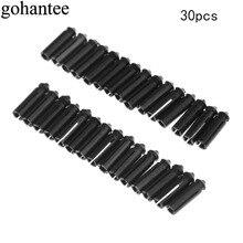 gohantee Durable 30 Pcs Universal Aluminum Alloy Dart Flight Savers Protectors Darts Accessories for Steel Soft Tip 8.5mm length