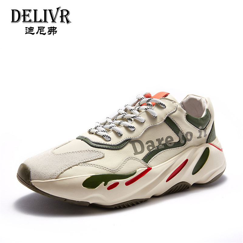 Delivr Men Sneakers Leather 2019 Spring Newest Fashion Sports Sneaker Flats Male Cow Genuine Leather Mens Shoes Casual SneakersDelivr Men Sneakers Leather 2019 Spring Newest Fashion Sports Sneaker Flats Male Cow Genuine Leather Mens Shoes Casual Sneakers