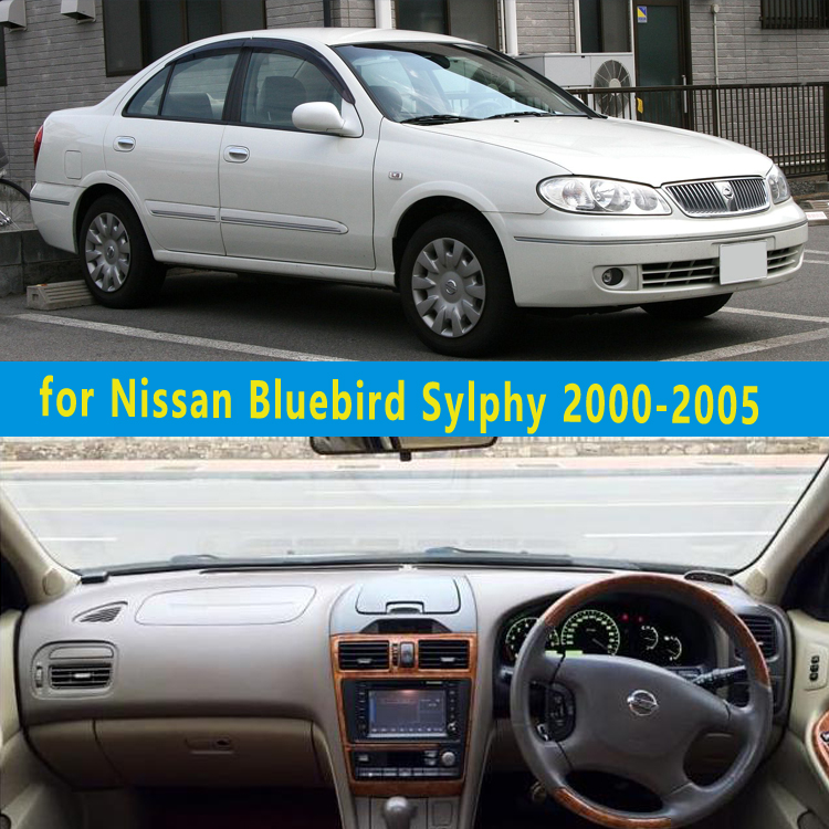 car dashmats car styling accessories dashboard cover for Nissan Bluebird Sylphy 2000 2001 2002 2003 2004 2005 rhd|cover for|cover for car|nissan car cover - title=