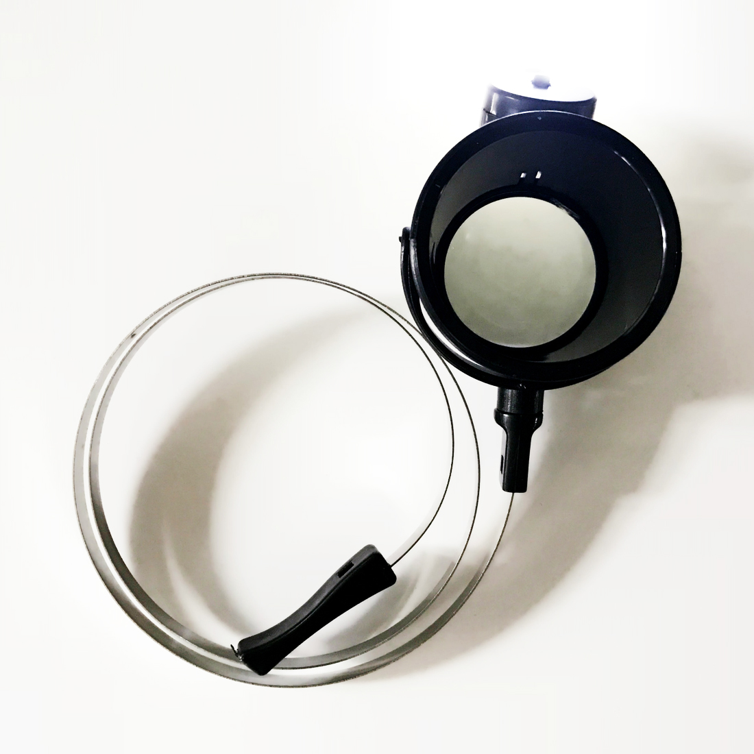 New High quality Led Lighted 15X Eye-Loupe Hands-Free Head Band Magnifier With 2CR1620 Lithium Metal Battery