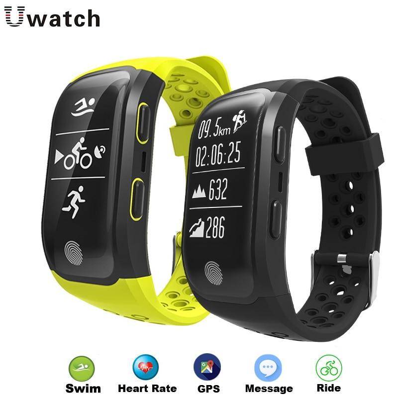 S908 Smart Wristbands Fitness Bracelet GPS Smartband Heart ...