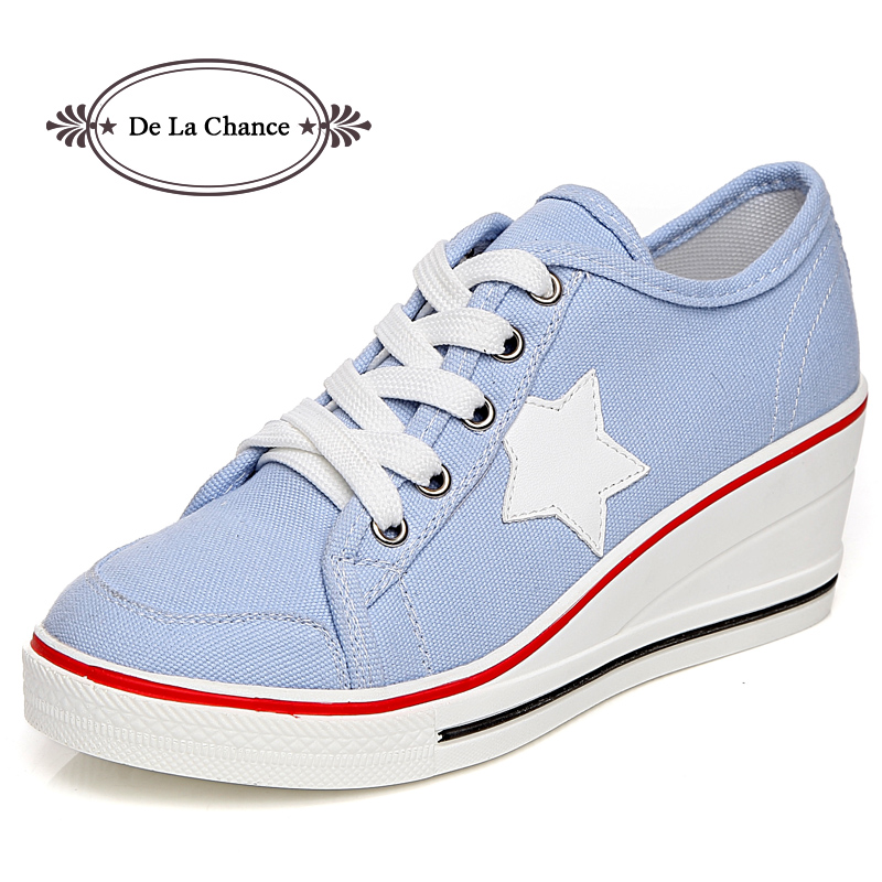 summer fashion women casual shoes lace up comfortable flat casual shoes slipony woman footwear leisure women canvas shoes Fashion Women Shoes Woman Casual Shoes Comfortable Lace Up Platform Sneakers Wedges Denim Canvas Shoes Breathable Flat Shoe