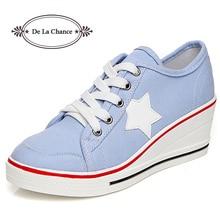 Fashion Women Shoes Woman Casual Shoes Comfortable Lace Up P