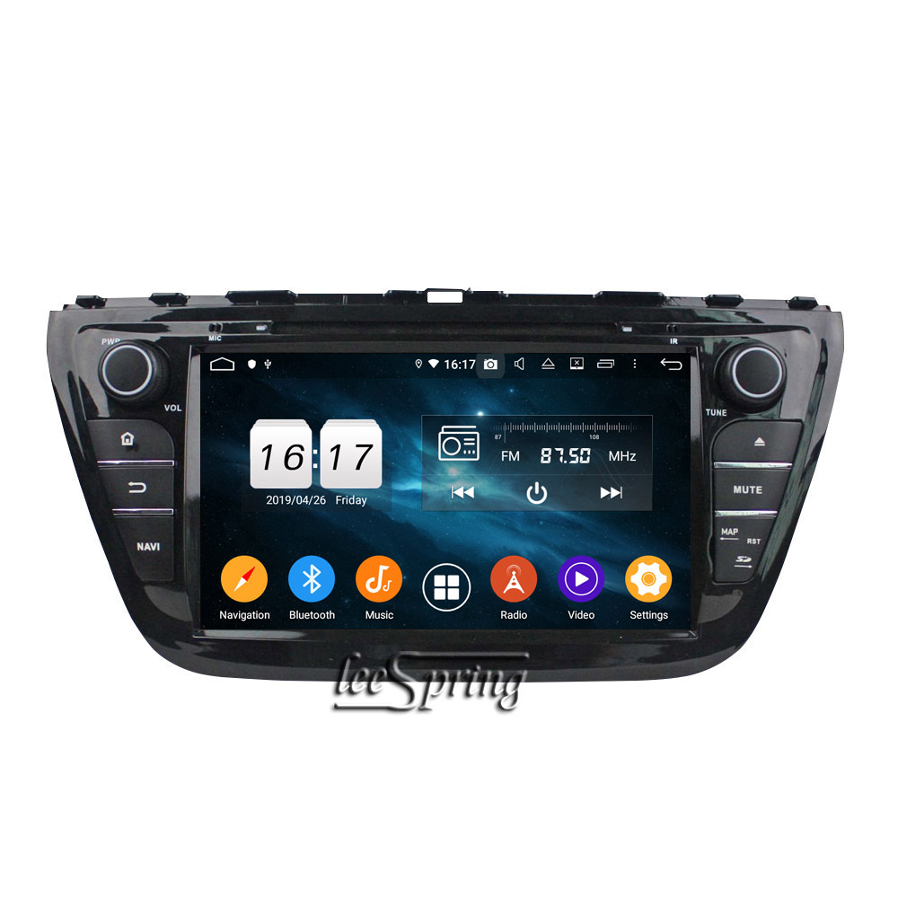 Android 9.0 CAR DVD Player for <font><b>SUZUKI</b></font> <font><b>SX4</b></font> <font><b>2014</b></font>/S Cross <font><b>2014</b></font> GPS navigation Car multimedia player 4+32G image
