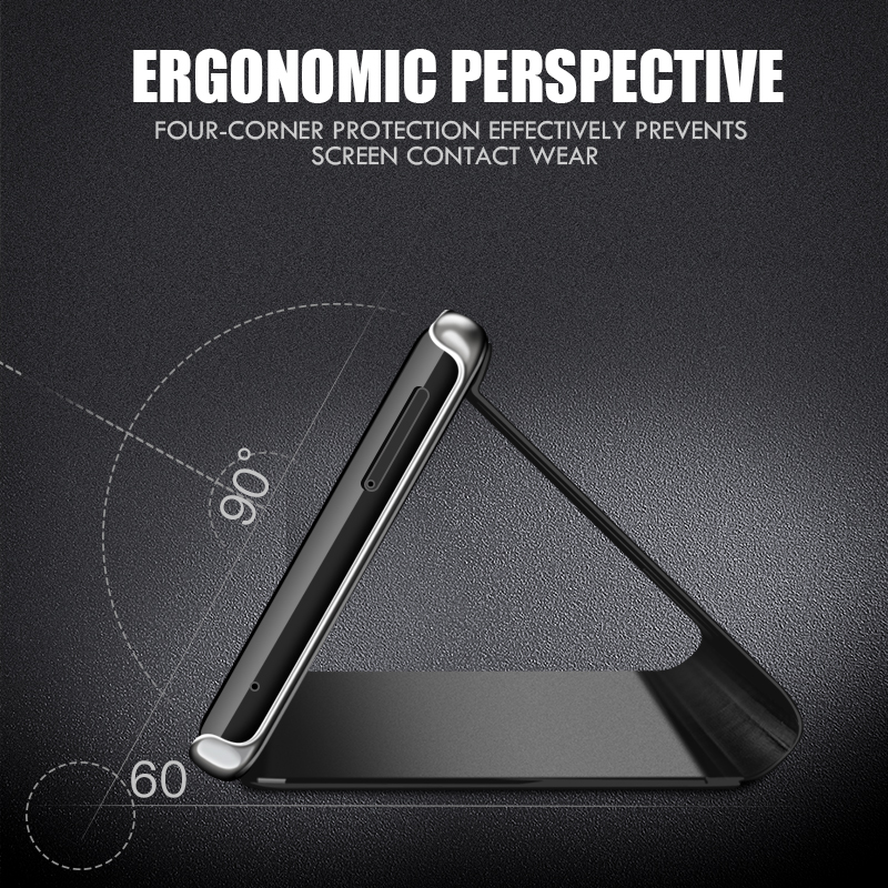 Smart Mirror Phone Case For Samsung Galaxy S10 S9 S8 Plus S10E A6 A8 A7 2