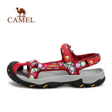 2016 New Design Women Sandals Camel Outdoor Women Slip resistant Breathable Beach Sandals Quick drying