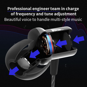 Image 2 - QKZ CK1 Earphone For phone MP3 mp4 Noise Isolating Stereo Sport In Ear Earphones Earbud fone de ouvido audifonos auriculares