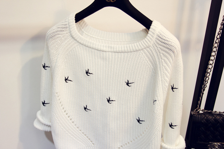 Flying Birds Sweater (Us 8-10)