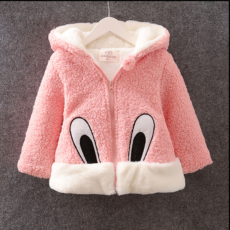 цены 2016 winter autumn girl baby clothes velvet lambs wool outerwear coats for infant baby clothing casual sports brand jacket coats