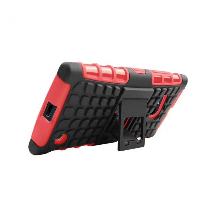 Антидетонационные Чехол для <font><b>Nokia</b></font> Lumia 730 735 funda Para, Hybrid ТПУ + PC Сотовый Телефон Задняя Крышка для Microsoft <font><b>Nokia</b></font> Lumia 730 Случае