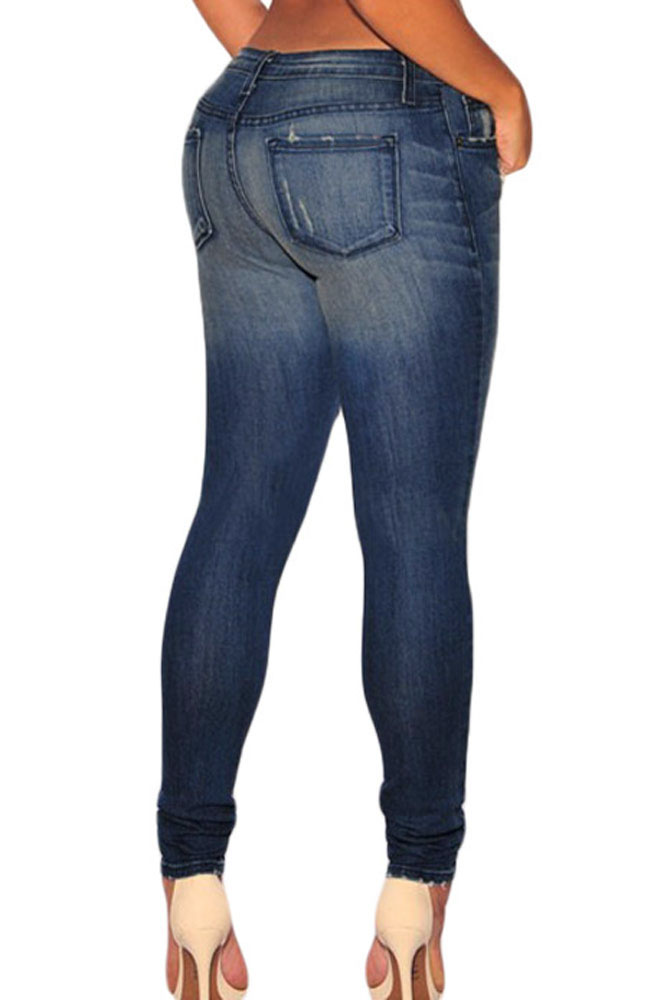 Dark-Sandblast-Wash-Denim-Destroyed-Skinny-Jeans-LC78659-5-2
