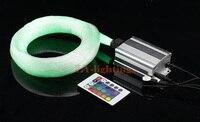 High Quality Optic Fiber Light Kit Led Light Source 200pcsx0 75mmx2 5m Fibres RGB Color Change