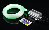 High Quality Optic Fiber Light Kit Led Light Source 200pcsx0 75mmx2 5m Fibres RGB Color Change
