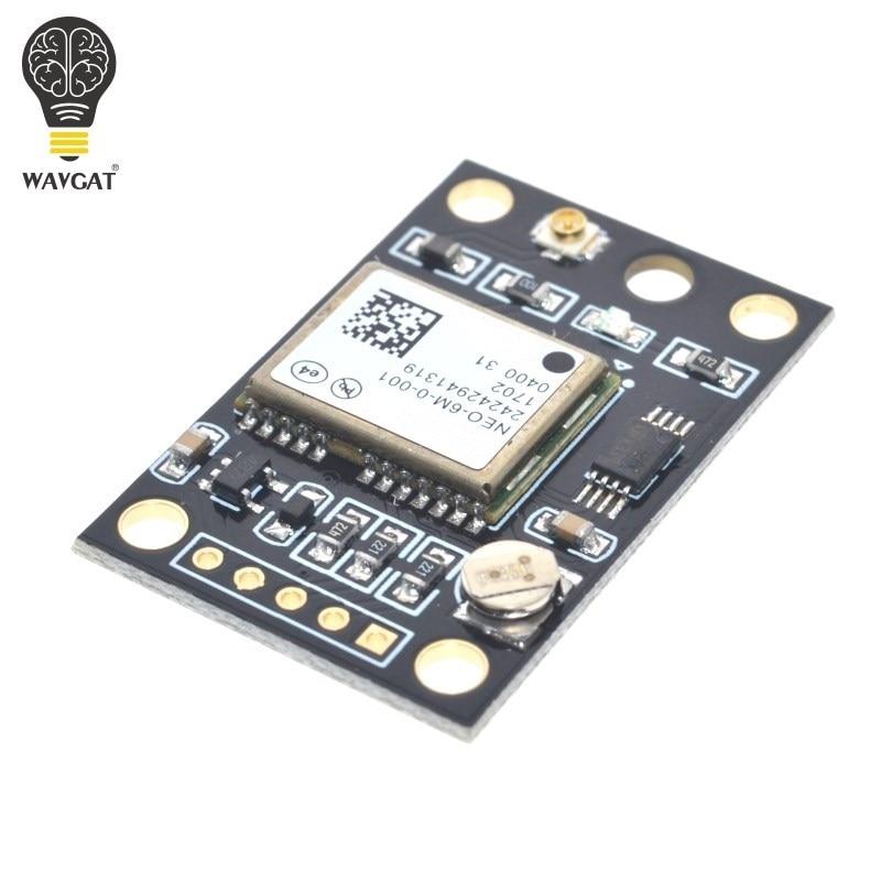 WAVGAT GY-NEO6MV2 Новый NEO-6M gps модуль NEO6MV2 с управлением полетом EEPROM MWC APM2.5 большая антенна для arduino