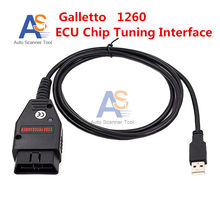 2017 Newly Excellent Galletto 1260 ECU Chip Tuning Interface ECU Flasher Fast and Safe OBD2 Work on Multi-brands Cars