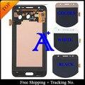 Frete Grátis 100% testado Original Para O transporte Samsung Galaxy J500 J5 LCD Screen Display LCD Digitador Assembléia-(Preto/branco/Ouro)