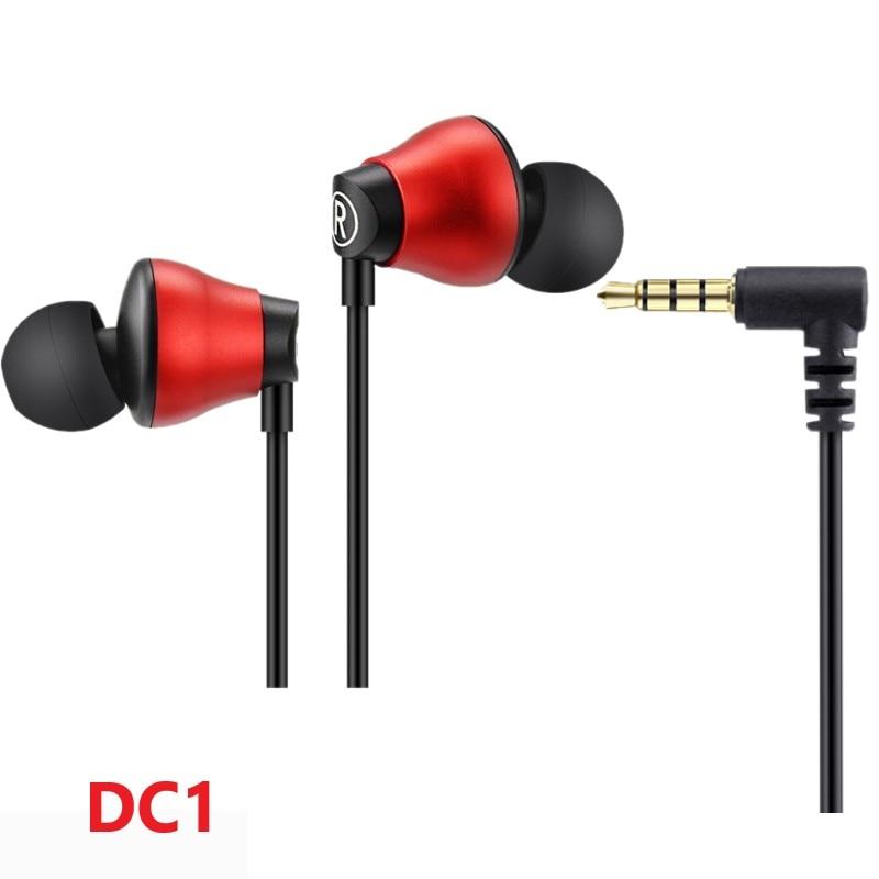 New Version ARTISTE DC1 HiFi music monitoring earphone Lightweight Commuter Earphones Dual Driver In Ear Stereo