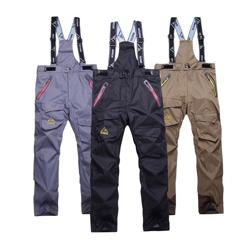 Free shipping new Germany waterproof ski pants Man s high quality Thicker coat men winter skiing