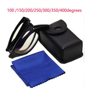 Presbyopic-Glasses Magnifiers Ultralight Collapsible Portable 1pc 250/300/350/400-degree