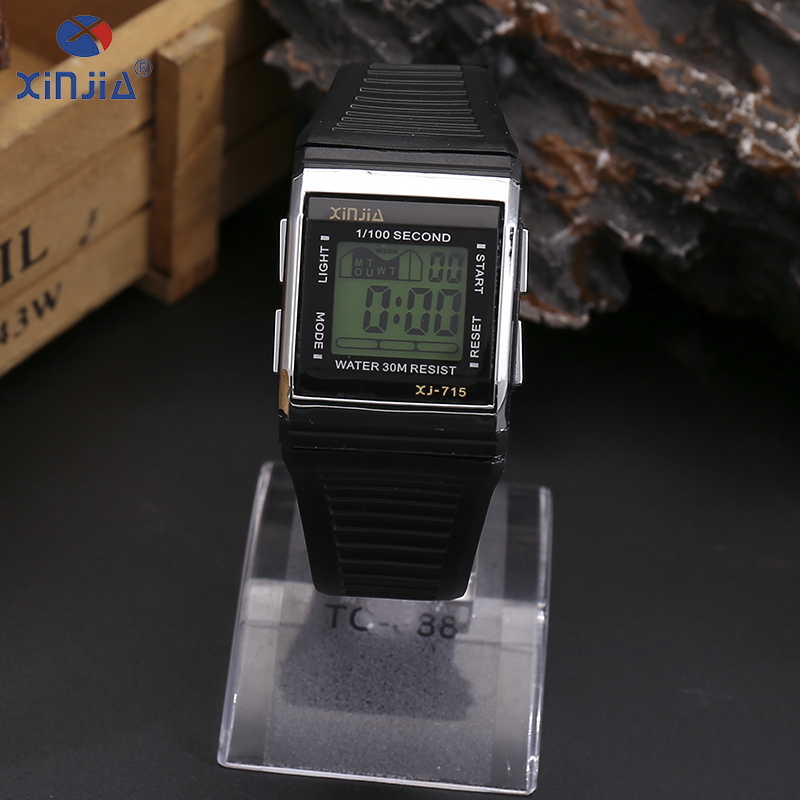 f976cfcef571 Relojes de pulsera electrónicos de ocio luminosos a la moda originales de marca  XINJIA