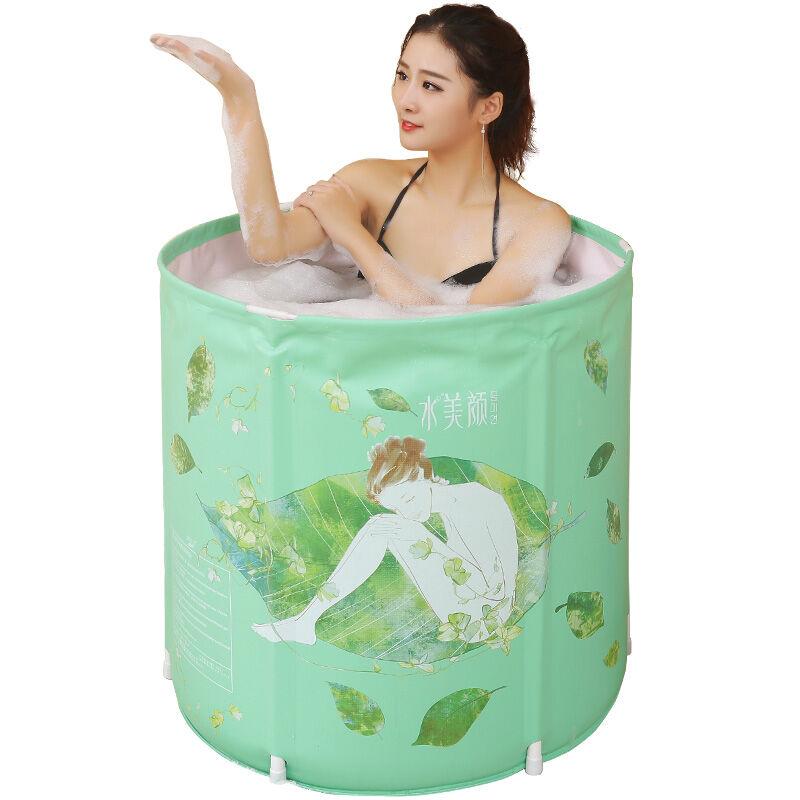 H 70*70 cm barils de bain gonflables pour adultes baril de bain maison pliante baril de bain enfants baignoire en plastique