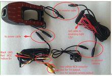 Car DVR DVR Registrator Digital Video Recorder dual Camcorder Dash Camera Cam 1080P ambarella wifi DVR mobile phone WIFI