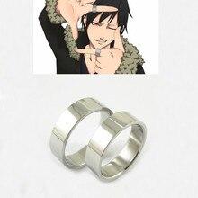 Набор из 2 колец аниме Durarara Orihara Izaya титановое стальное кольцо косплей