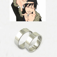Set of 2 Pieces Rings Anime DuRaRaRa Orihara Izaya Titanium Steel Ring Cosplay