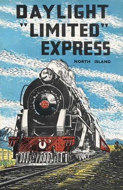New Zealand Nz Daylight Limited Express Railway Trip