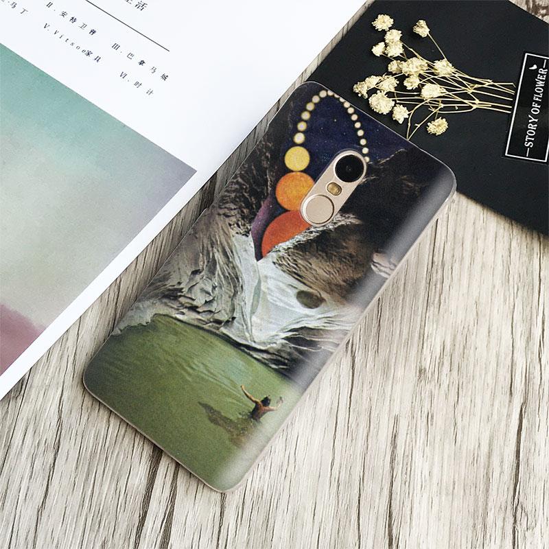 Trippy Art aesthetic Coque Phone Case Shell Cover For Xiaomi Redmi Note 2 3 4 4X 5A Pro Mi 4 5 5S Plus 5X 6 MiA1 Minote 2 3