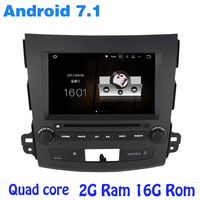 Android 7 1 Quad Core Car Dvd Gps For Mitsubishi Outlander With 2G RAM Wifi 4G
