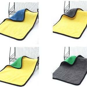 Image 5 - Car Care Polishing Wash Towels Plush Microfiber Washing Drying Towel Strong Thick Plush Polyester Fiber Car Cleaning Cloth Dry