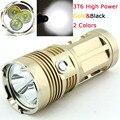 3t6 LED Фонарик Факел 30 Вт 3 x XM-L T6 6000 LM 4x18650 Водонепроницаемый led Свет лампы для Охоты Отдых На Природе