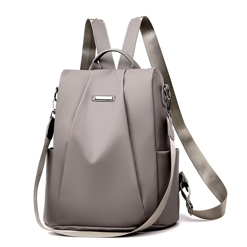 Small Backpack Shoulder-Bag-Pack Female Rucksack Oxford Anti-Theft-Design High-Quality