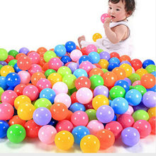 2PcsEco-Friendly Colorful Soft Plastic Water Pool Ocean Wave Ball Baby Funny Toys Stress Air Ball Outdoor Fun Sports(China)
