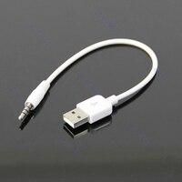 Cable USB de 3,5mm de carga de sincronización de datos adaptador para Apple iPod Shuffle 2nd #221