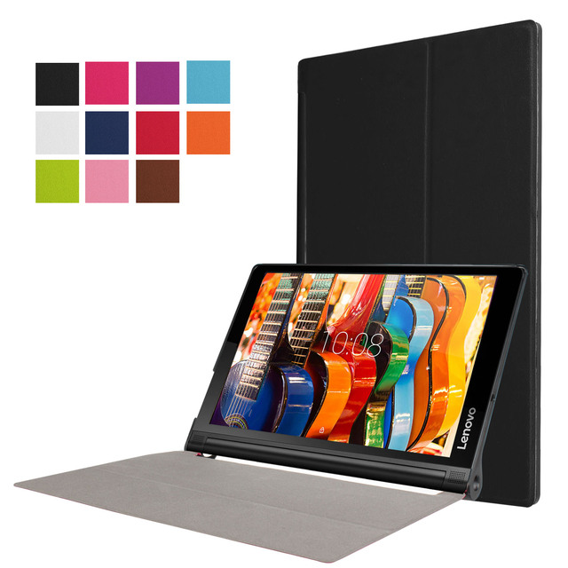 """PU Leather Cover Stand Case For Lenovo Yoga Tab 3 Pro 10 X90 YT3-X90F X90M YT3-X90L 10.1"""" Case Case +Film+Stylus Pen"""