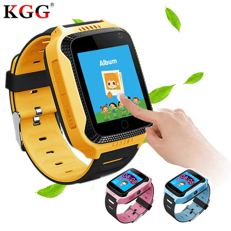 Q528 Y21 Touch Screen Kids GPS Watch with Camera Lighting Smart Watch Sleep Monitor GPS SOS Baby Watch PK Q50 Q750 Q100