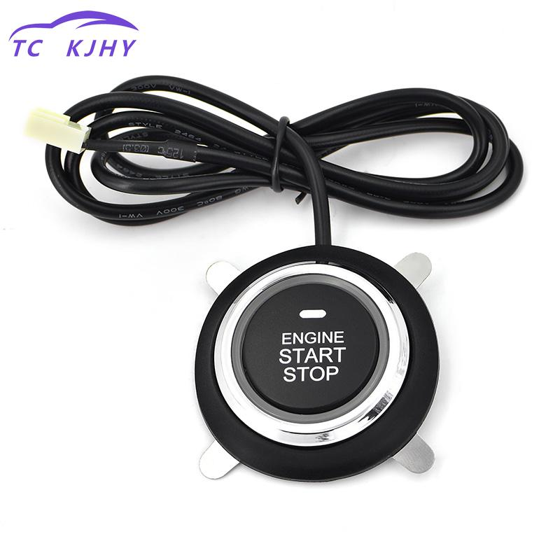 2018 Auto Car Stop Engine System Lock Ignition Button Keyless Entry System Go Push Button Engine Start Stop Button Immobilizer