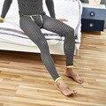Simples hombres de la Capa Caliente Del Invierno Pantalones Estrellas Impresión Joven Delgado Base Leggings Long Johns