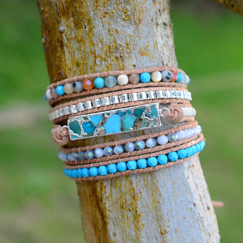 Bracelet-Jewelry-Handmade-Multi-Color-Natural-Stone-Beads-Leather-Wrap-Bracelet-Couples-Bracelets-Creative-Gifts (1)