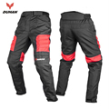DUHAN Men's Motocross Off-Road Trousers Motorcycle Racing Pantalon Windproof Riding Sports Pants Knee Protective Guards