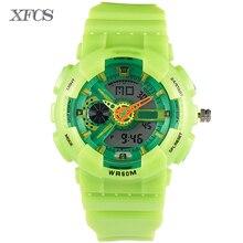 XFCS 2017 waterproof watches for kids original children automatic watchs esportivo top digitales watch military boy clock kid