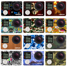 New Hot Sale For Goro sport camera stickers go pro accessories for Gopro Hero 4 cam skin protector case