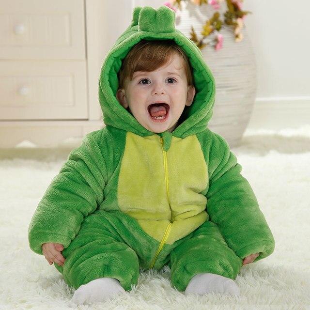 Горячие продажи животных детские зимние snowsuit 12 18 месяцев европейский малышей девушка одежда