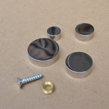 цена на 12mm 16mm 20mm 25mm solid stainless steel decorative cover nail acrylic mirror nail advertisting screw household hardware part