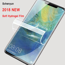 2pcs Screen Protector For Huawei Mate 20 pro 10 9 Rs Lite 3E Y9 2018 New Full Cover Soft Hydrogel Not Glass For Nova 3 3i Film