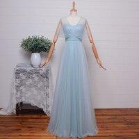 На заказ Реальные фотографии голубой лед Тюль элегантное вечернее платье кадисуа официальная женская одежда платье на выпускной длинный х
