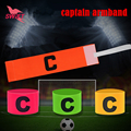Professional Football Soccer Captain Armband Adjustable Sports Competition Armbands High Quality Games Tournament Captain Band