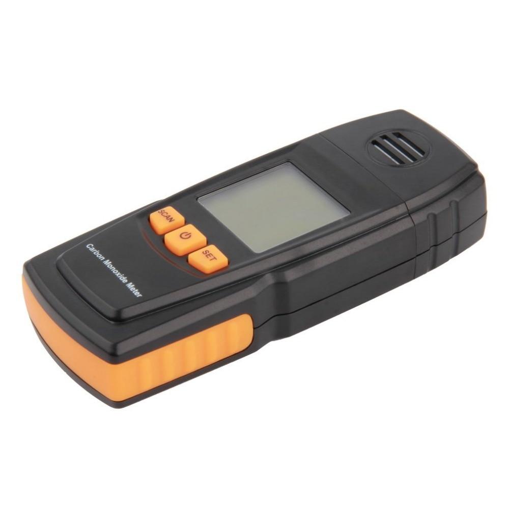 Hand-held smart sensor portable CO Gas Detector LCD Digital Carbon Monoxide Handheld Meter CO Gas Tester Detector Meter carbon monoxide gas co meter detector with lcd display and sound light alarm analyzer measurement portable
